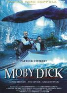 Moby Dick - Italian DVD cover (xs thumbnail)