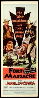 Fort Massacre - Movie Poster (xs thumbnail)