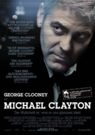 Michael Clayton - German Movie Poster (xs thumbnail)