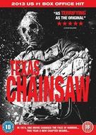 Texas Chainsaw Massacre 3D - British DVD movie cover (xs thumbnail)
