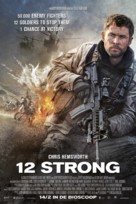 12 Strong - Dutch Movie Poster (xs thumbnail)