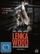 The Disappearance of Lenka Wood - German DVD cover (xs thumbnail)