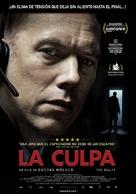 Den skyldige - Uruguayan Movie Poster (xs thumbnail)