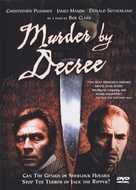 Murder by Decree - DVD cover (xs thumbnail)