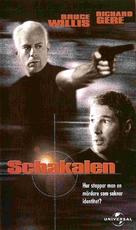 The Jackal - Swedish VHS movie cover (xs thumbnail)