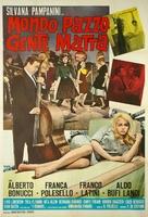 Mondo pazzo... gente matta! - Italian Movie Poster (xs thumbnail)