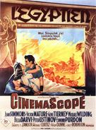 The Egyptian - French Movie Poster (xs thumbnail)