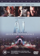 Artificial Intelligence: AI - Australian DVD movie cover (xs thumbnail)