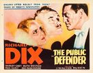 The Public Defender - Movie Poster (xs thumbnail)