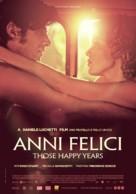 Anni felici - Belgian Movie Poster (xs thumbnail)