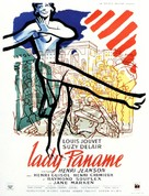 Lady Paname - French Movie Poster (xs thumbnail)
