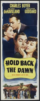 Hold Back the Dawn - Movie Poster (xs thumbnail)