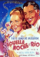 That Night in Rio - Spanish Movie Poster (xs thumbnail)