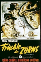 The Grapes of Wrath - German Movie Poster (xs thumbnail)