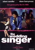 The Wedding Singer - Swedish Movie Cover (xs thumbnail)