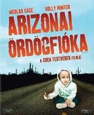 Raising Arizona - Hungarian Blu-Ray cover (xs thumbnail)