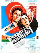 Les dieux du dimanche - French Movie Poster (xs thumbnail)