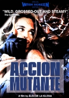 Acción mutante - DVD cover (xs thumbnail)