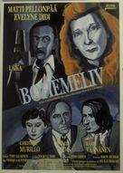 La vie de bohème - Danish Movie Poster (xs thumbnail)