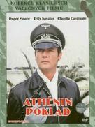 Escape to Athena - Czech DVD movie cover (xs thumbnail)