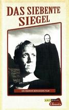 Det sjunde inseglet - German VHS movie cover (xs thumbnail)