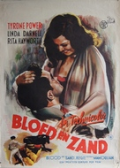 Blood and Sand - Dutch Movie Poster (xs thumbnail)