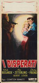 Desperate Moment - Italian Movie Poster (xs thumbnail)