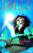 Dolls - German VHS cover (xs thumbnail)