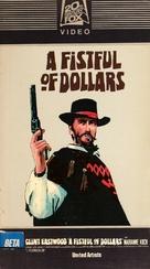 Per un pugno di dollari - VHS movie cover (xs thumbnail)