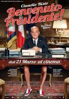 Benvenuto Presidente! - Italian Movie Poster (xs thumbnail)