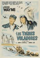 Flying Tigers - Argentinian Movie Poster (xs thumbnail)