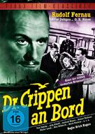 Dr. Crippen an Bord - German DVD cover (xs thumbnail)
