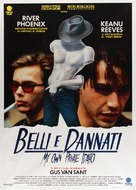 My Own Private Idaho - Italian Movie Poster (xs thumbnail)