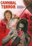 Terreur cannibale - German DVD cover (xs thumbnail)