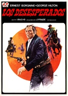 Los desesperados - Spanish Movie Poster (xs thumbnail)