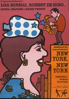 New York, New York - Polish Movie Poster (xs thumbnail)