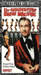 Dr. Goldfoot and the Bikini Machine - VHS movie cover (xs thumbnail)