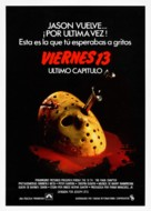 Friday the 13th: The Final Chapter - Spanish Movie Poster (xs thumbnail)