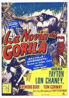 Bride of the Gorilla - Mexican Movie Poster (xs thumbnail)