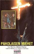 The Klansman - Finnish VHS movie cover (xs thumbnail)