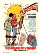 Solteros de verano - Spanish Movie Poster (xs thumbnail)