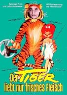 Tigre aime la chair fraiche, Le - German Movie Poster (xs thumbnail)