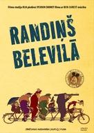 Les triplettes de Belleville - Latvian DVD cover (xs thumbnail)