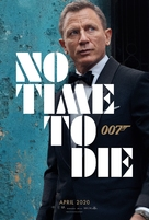 No Time to Die - Danish Movie Poster (xs thumbnail)