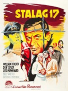 Stalag 17 - French Movie Poster (xs thumbnail)