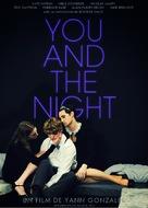 Les rencontres d'après minuit - French DVD cover (xs thumbnail)