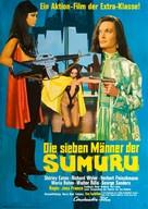 Die sieben Männer der Sumuru - German Movie Poster (xs thumbnail)