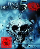 Final Destination 5 - German Blu-Ray movie cover (xs thumbnail)