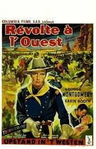 Seminole Uprising - Belgian Movie Poster (xs thumbnail)