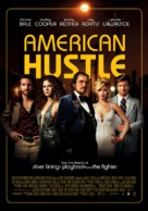 American Hustle - Swiss Movie Poster (xs thumbnail)